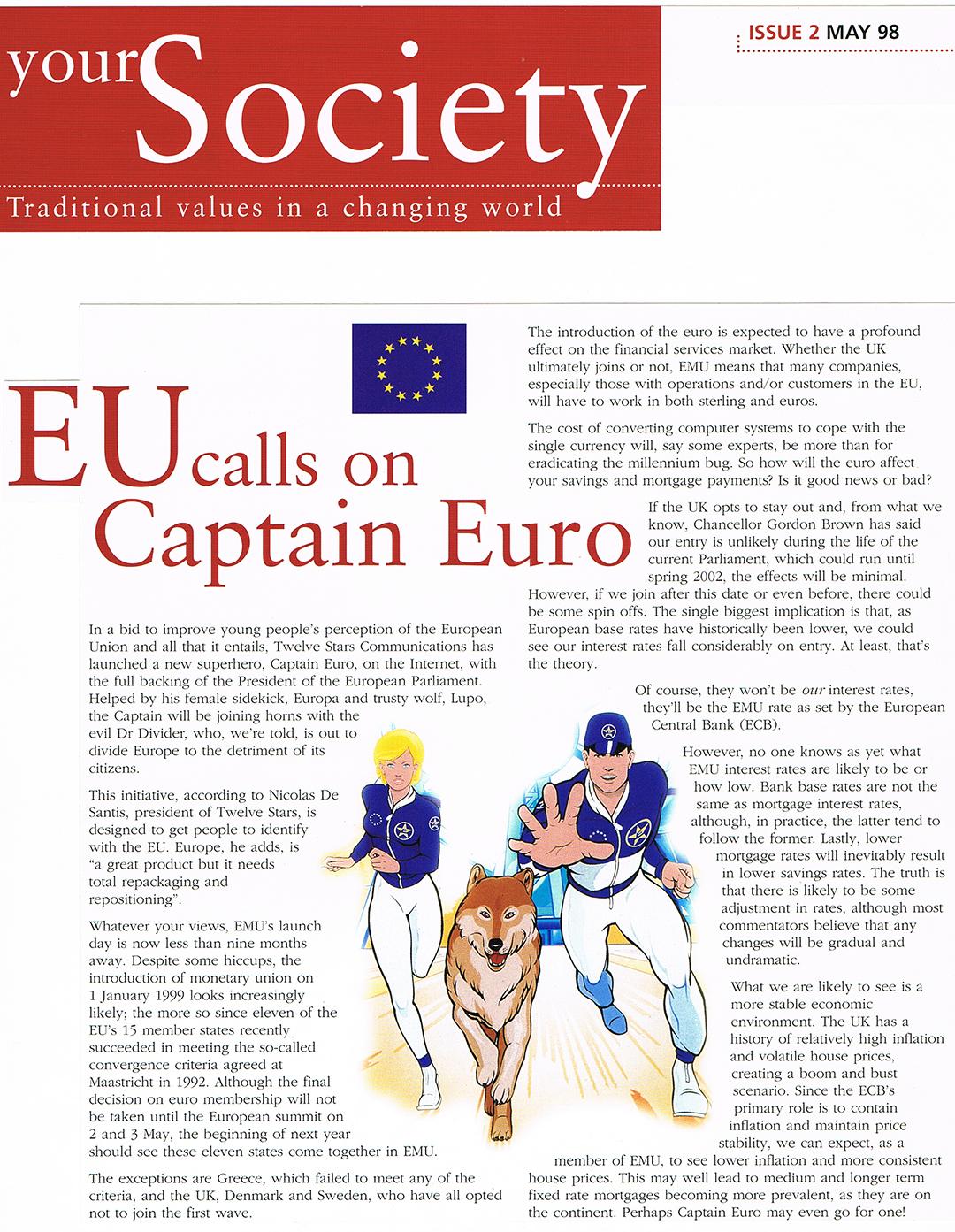 Captain euro europes superhero your society magazine biocorpaavc Choice Image