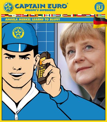 Angela Merkel Learns to Bluff!