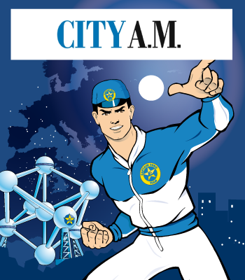 Captain Euro Featured in City AM