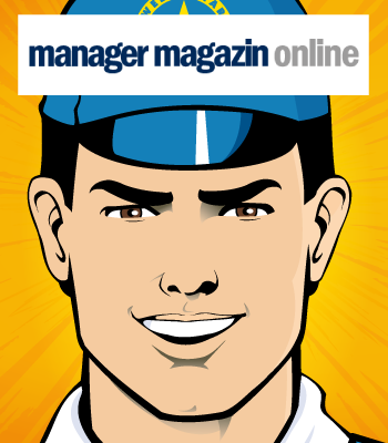 Captain Euro Coverage in Manager Magazine Online