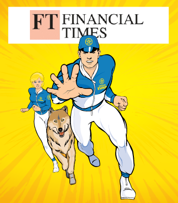 Captain Euro Featured in the Financial Times
