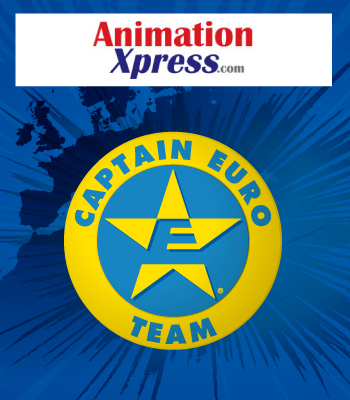 Captain Euro in India's Premier Animation Website