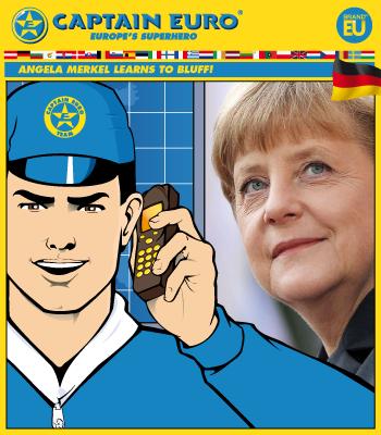 Angela Merkel Learns to Bluff!