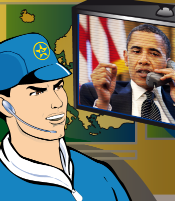 Obama and Captain Euro Discuss TTIP