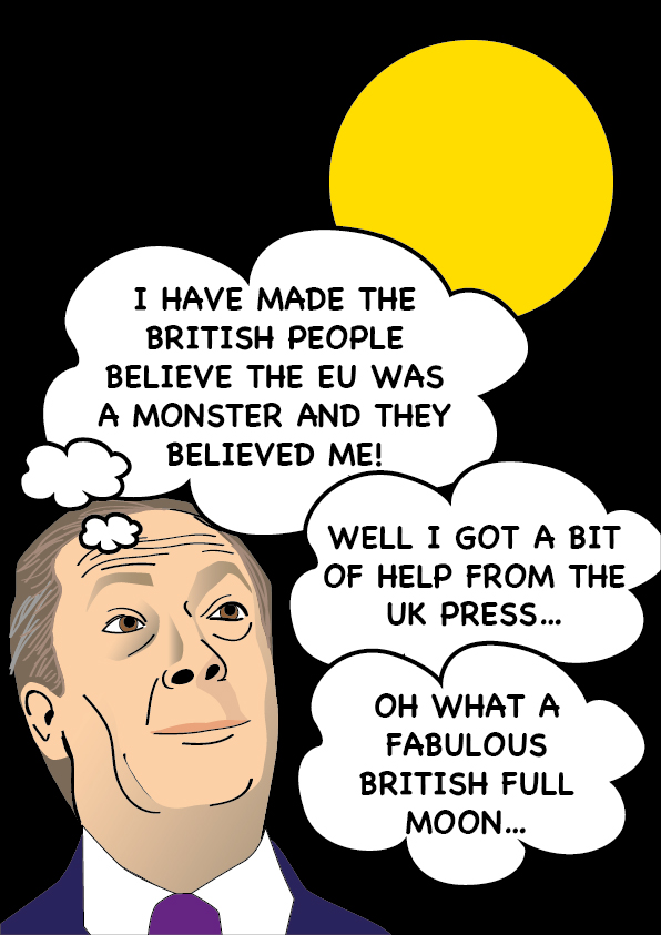 Brexiteers Philosophy – Nigel Farage